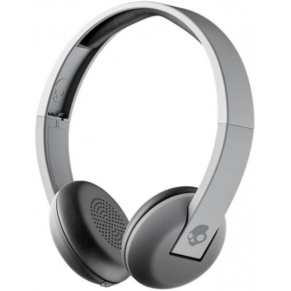 Skullcandy Uproar Bluetooth Headset with Mic  (Street Gray, On the Ear)