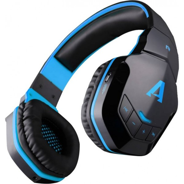 boAt Rockerz 510 Super Extra Bass Bluetooth Headset with Mic  (Black, Blue, Over the Ear)