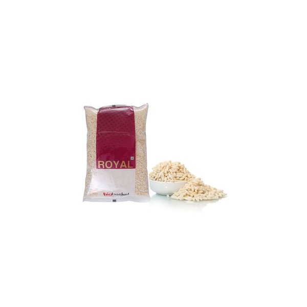 bb Royal Salted Puffed Rice/Murmure/Khare Murmure, 500 gm Pouch