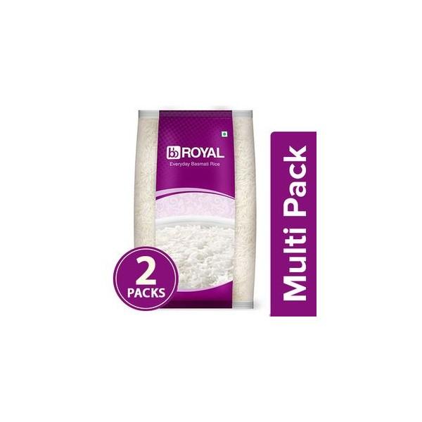 bb Royal Basmati Rice - Everyday, 2x1 kg ( Multipack )