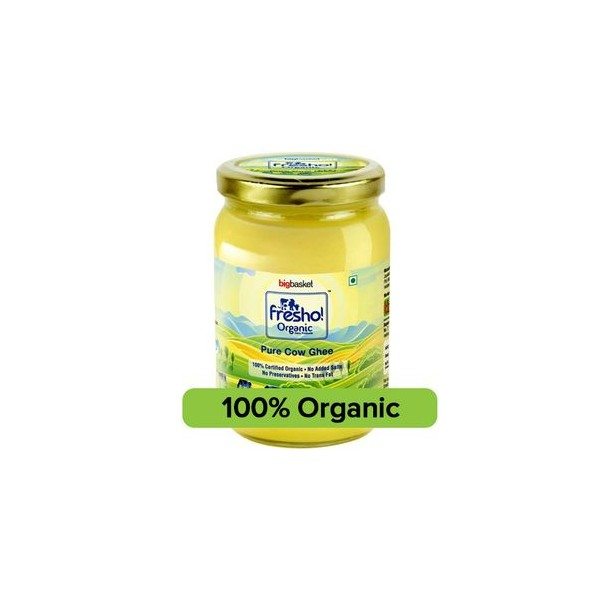 Fresho Organic Cow Ghee, 500 ml