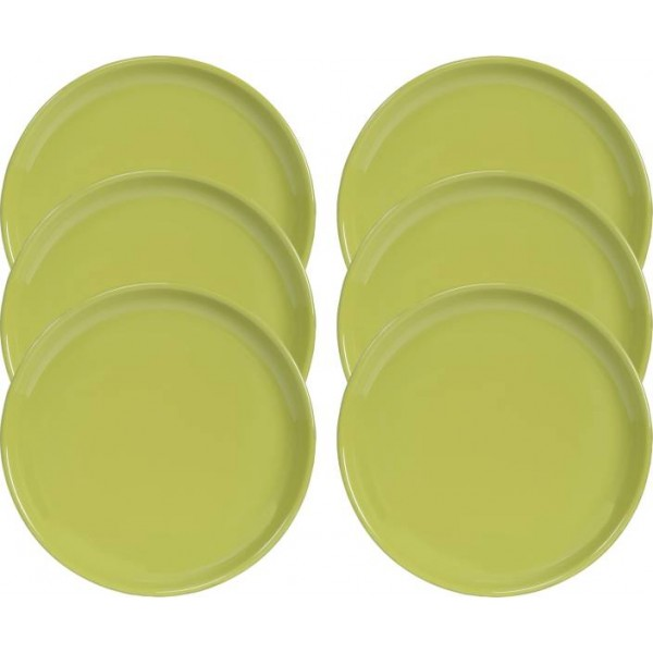 Servewell Green Plate  (Pack of 6)