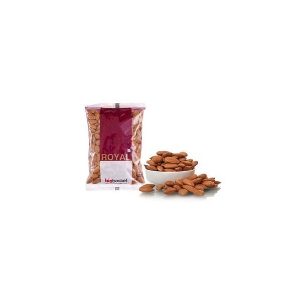 bb Royal Almond/Badam - Californian, Jumbo, 500 gm Pouch
