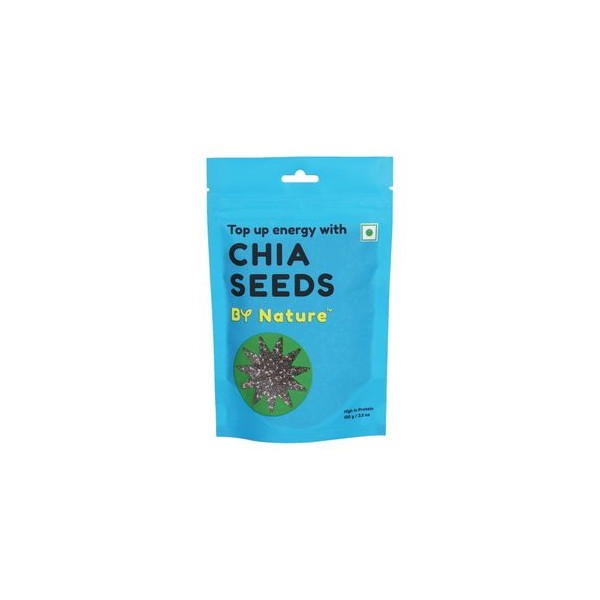 By Nature Chia Seeds, 100 gm