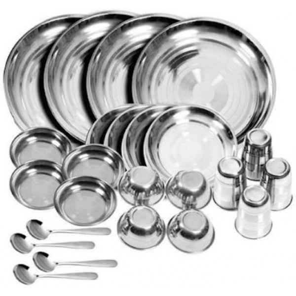 Royal Sapphire rsd Pack of 24 Dinner Set  (Stainless Steel)