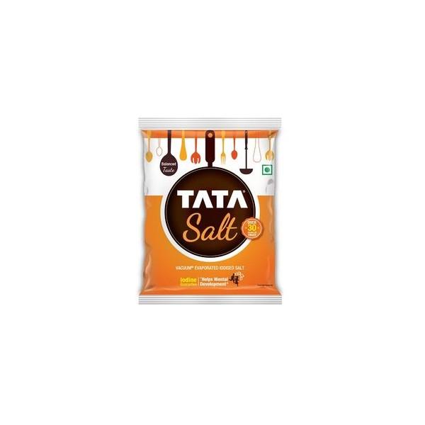 Tata Salt - Iodized, 1 kg Pouch