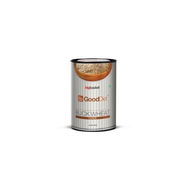 GoodDiet Buckwheat Flour, 500 gm