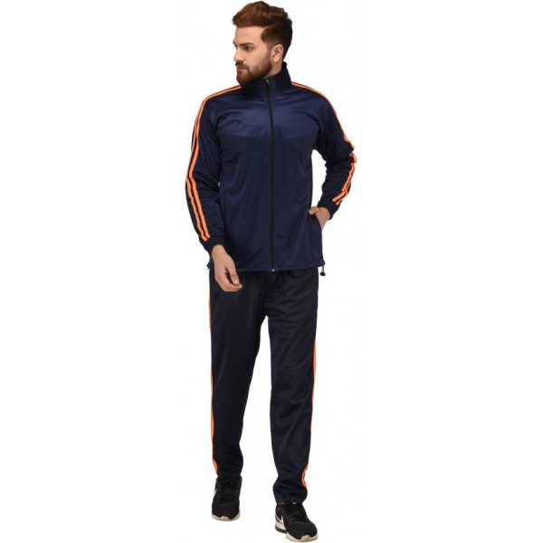 Gag Solid Men & Women Track Suit