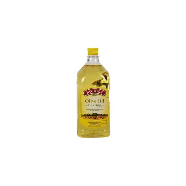 BORGES Olive Oil - Extra Light, 2 ltr Bottle