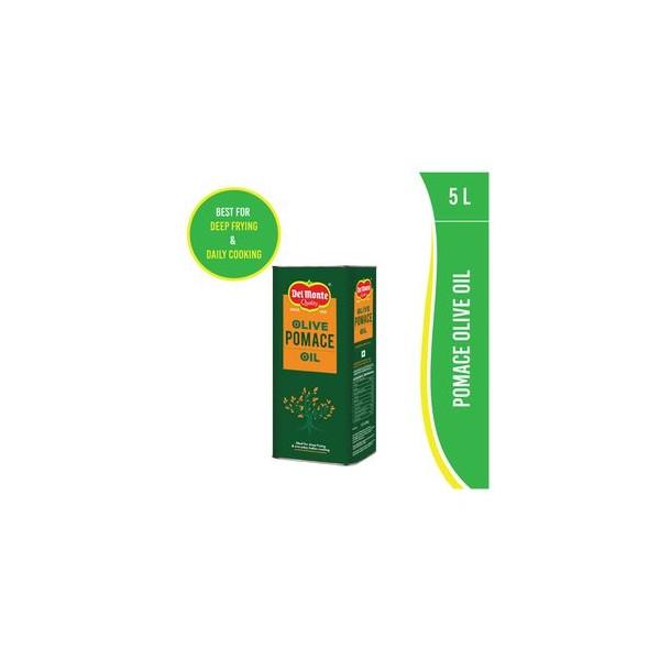 Del Monte Olive Oil - Pomace, 5 ltr