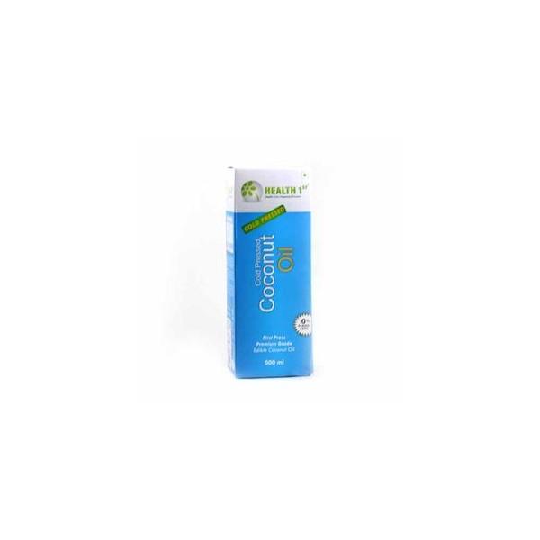 Health 1st Cold Pressed - Coconut Oil, 500 ml