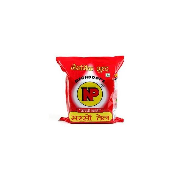 NP Kacchi Ghani Mustard Oil, 5 ltr