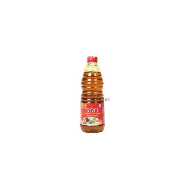 Rro Oil - Premium Mustard (Kachi Ghani), 500 ml Bottle