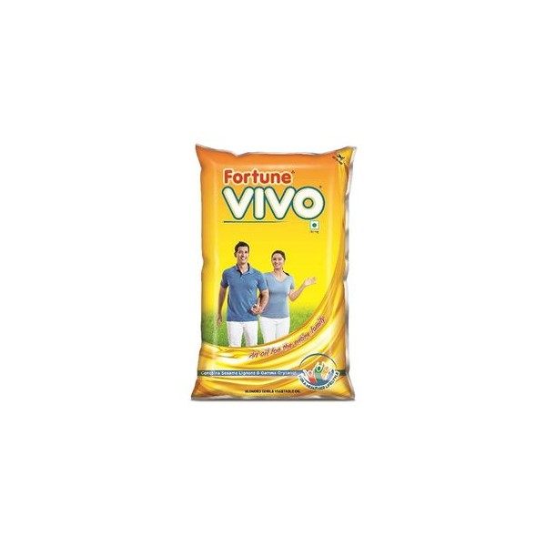 Fortune Vivo Oil, 1 ltr Pouch