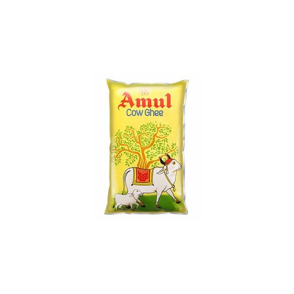 Amul Cow Ghee, 1 ltr Pouch