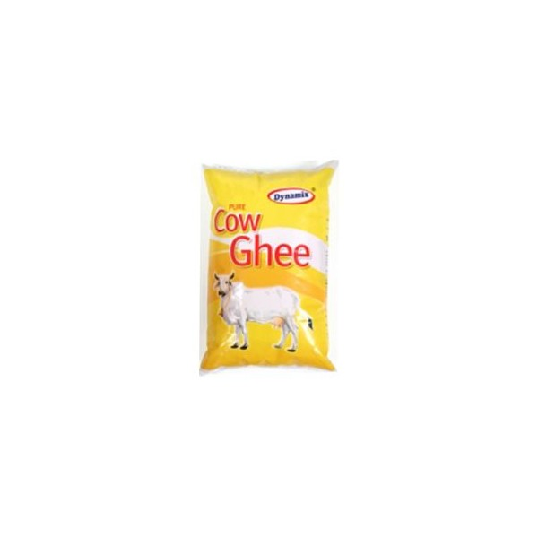 Dynamix Cow Ghee - Pure, 1 ltr Pouch