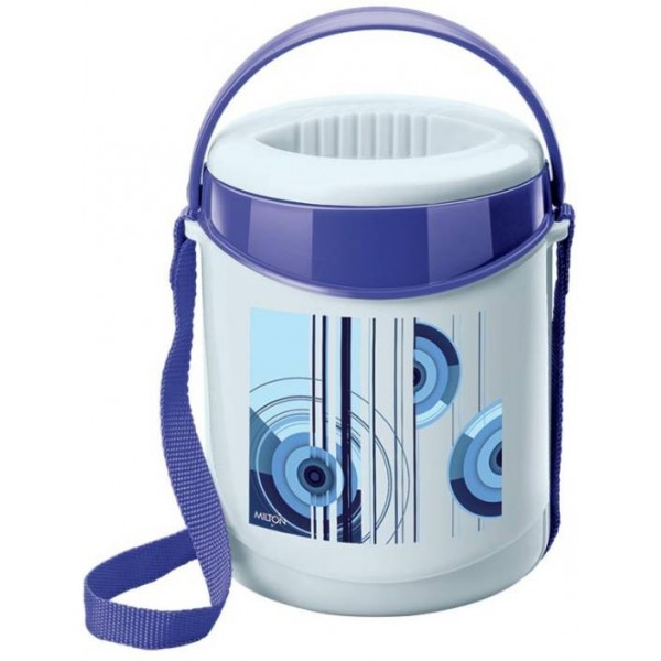 Milton Econa-Blue 3 Containers Lunch Box  (300 ml)