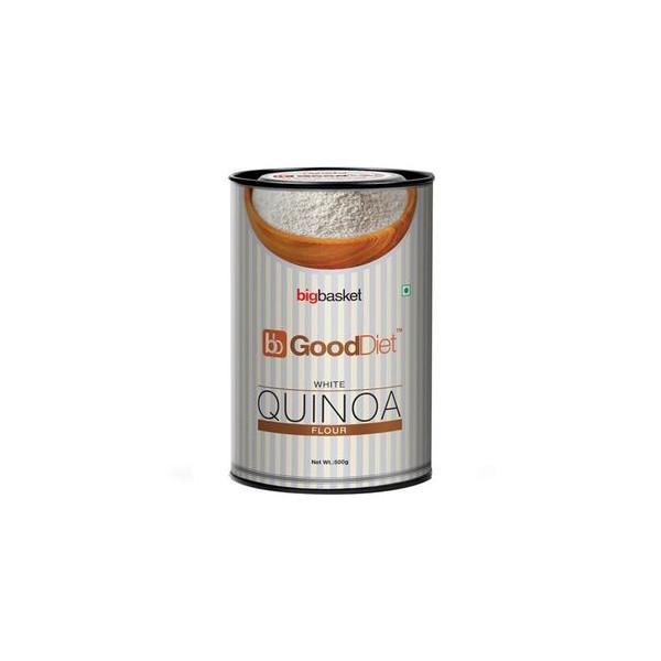 GoodDiet White Quinoa Flour, 500 gm