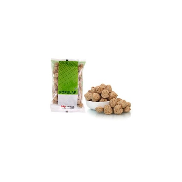 bb Popular Soya Chunks/Soyabean Wade, 200 gm Pouch