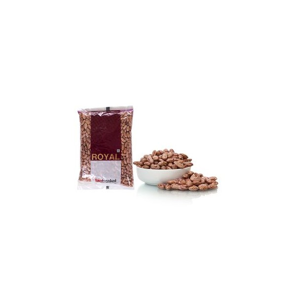bb Royal Rajma White/ Chitra/Rajma Pandhra, 500 gm Pouch