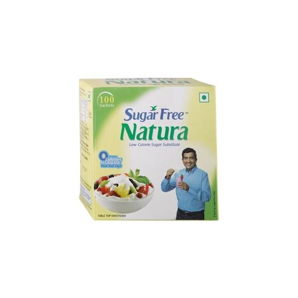 Sugarfree Natura Pack, 100 Sachet