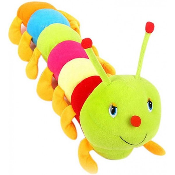 PIST Soft Toys Caterpillar 55 Cm Multicolor - 55 cm  (Multicolor)