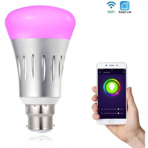 TrendingObjects 7W Smart Wifi LED Bulb Control By Smart Phone, Google Home And Amazon Alexa Smart Bulb