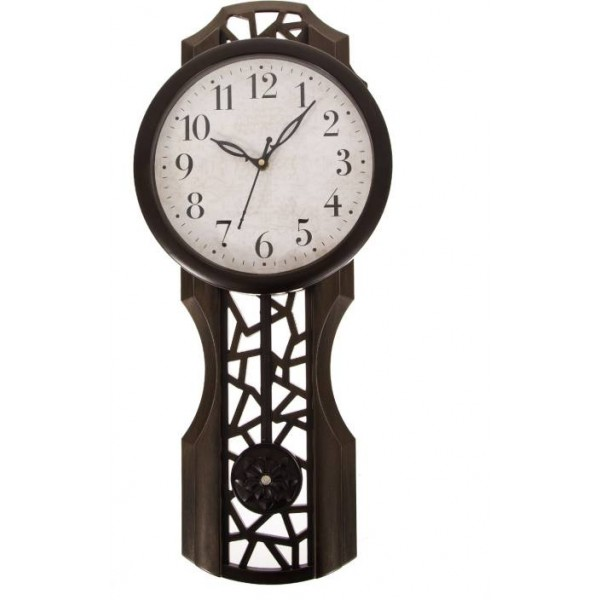 Smile2u Retailers Analog Wall Clock  (Copper, With Glass)