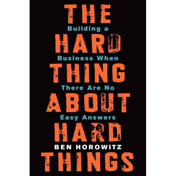 THE HARD THING ABOUT HARD THINGS  (english, Hardcover, Ben Horowitz)