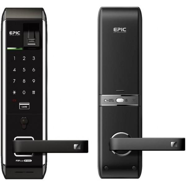Epic Epic EF-8000L Digital Door Lock ( Fingerprint,PIN,RFID Card & Key ) Smart Door Lock