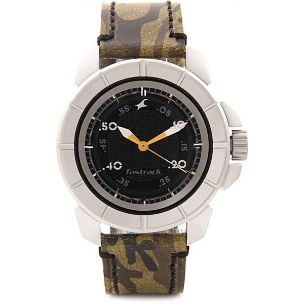 Fastrack NG3088SL02 Commando Watch - For Men