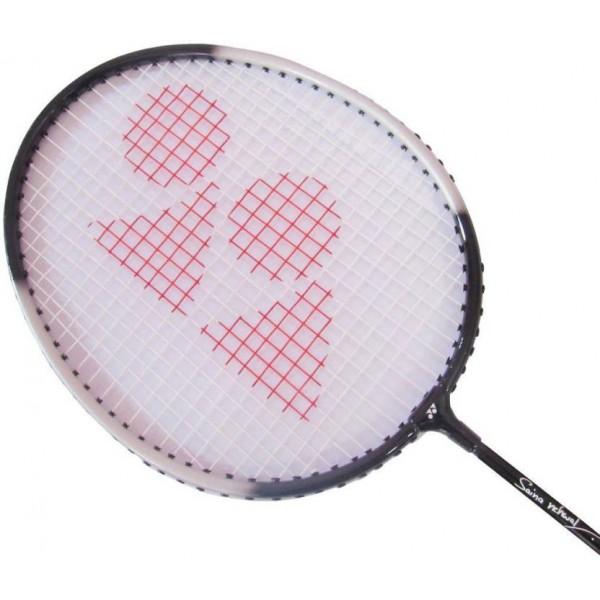 Yonex GR-303 Saina Nehwal Special Edition Black Strung Badminton Racquet  (G3 - 3.5 Inches, 95 g)