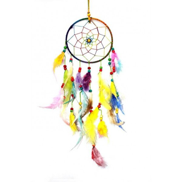 Creatuvegifts Multicolored Dream Catcher Wall Hanging - Attract Positive Dreams Showpiece