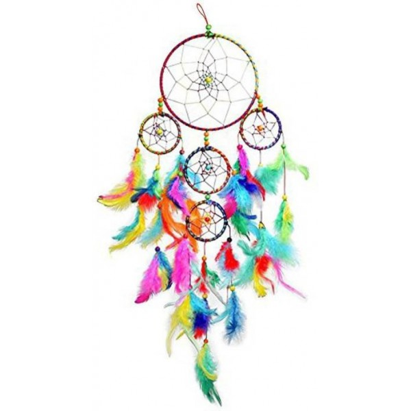 Reiki Crystal Products Dream Catcher for Car & Wall Hanging Attract Positive Dreams Showpiece