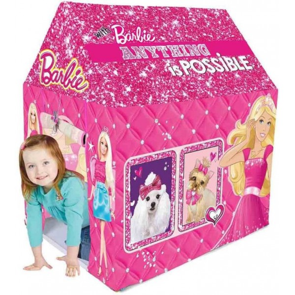 Barbie Play Tent House  (Multicolor)