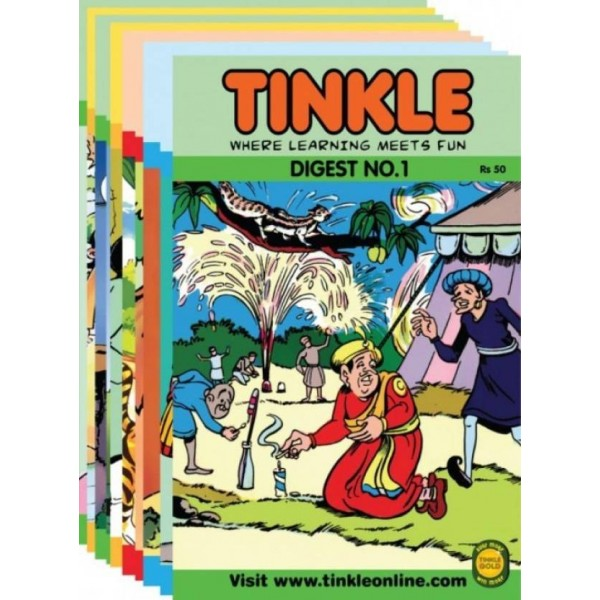 Best Of Tinkle: 10 Tinkle Digests (1980 - 2008) : Where Learning Meets Fun  (Paperback)