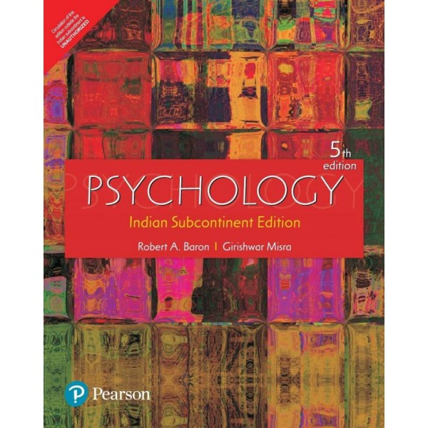 Psychology (Adaptation) Four Colour : Indian Subcontinent Edition 5 Edition  (English, Paperback, Baron, Misra)