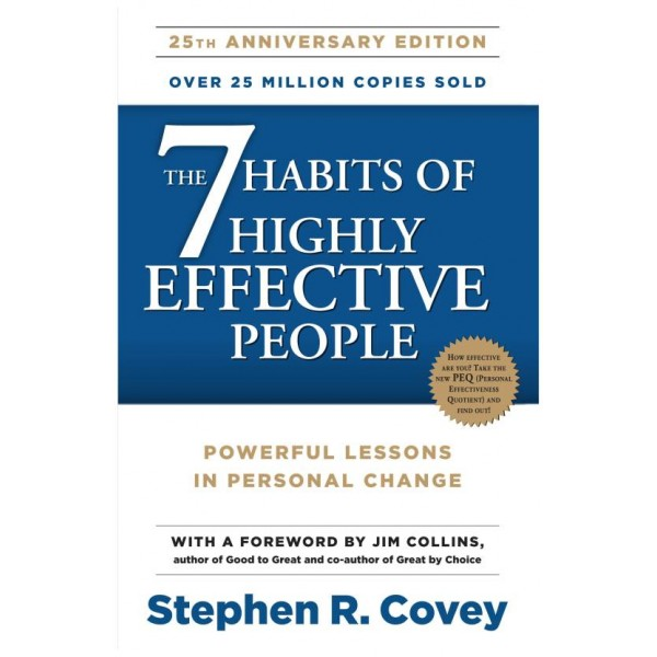 The 7 Habits of Highly Effective People  (English, Paperback, Jim Collins, Stephen R. Covey)
