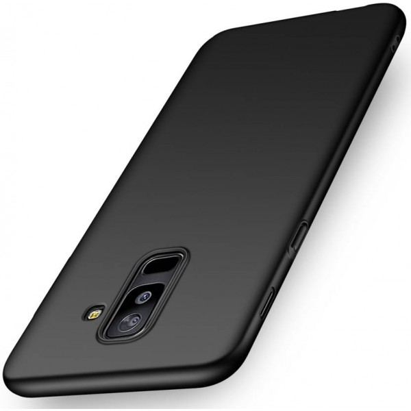 Kapa Back Cover for Samsung Galaxy A6 + (Plus)  (Black, Plastic)