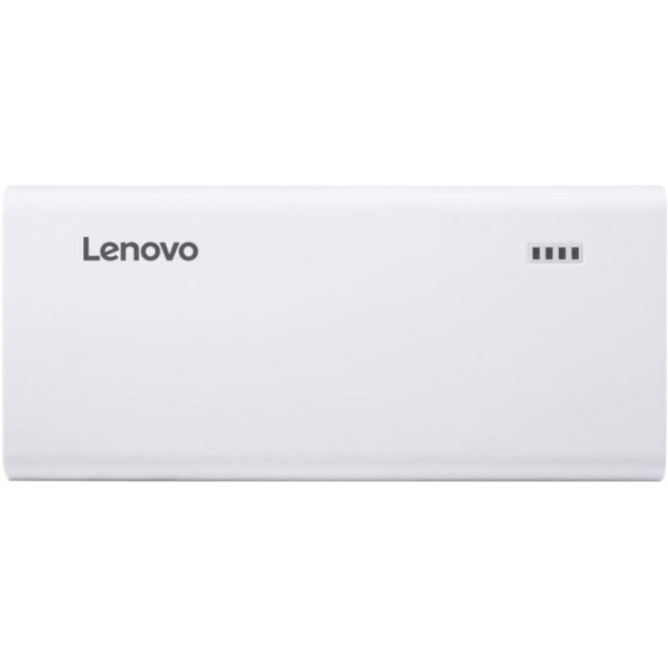 Lenovo 10400 mAh Power Bank (PA)  (White, Lithium-ion)