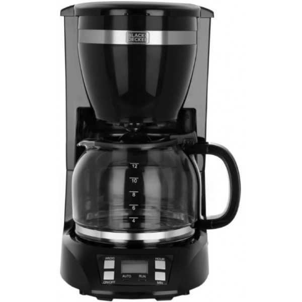 Black & Decker BXCM1201IN 12 Cups Coffee Maker  (Black)