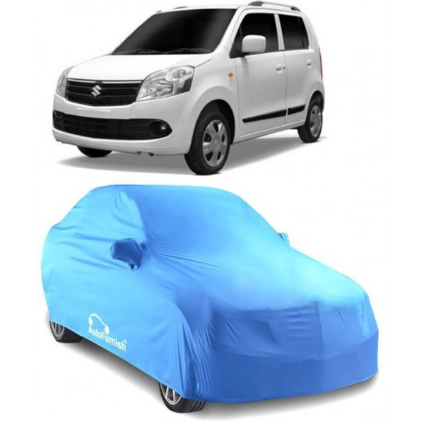 Autofurnish Car Cover For Maruti Suzuki WagonR (With Mirror Pockets)  (Blue)