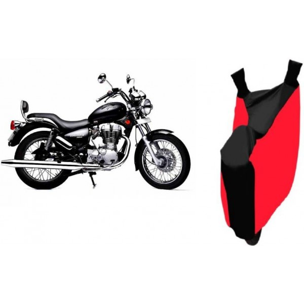 Techmaster Two Wheeler Cover for Royal Enfield  (Bullet 350, Red, Blue)