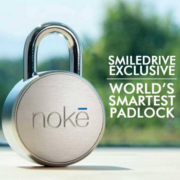 Noke World's Smartest Padlock-Keyless Bluetooth Smart Door Lock