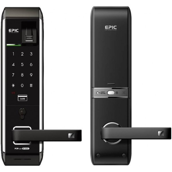Epic Epic EF-8000L Digital Door Lock ( Fingerprint,PIN,RFID Card & Key ) Smart Door Lock