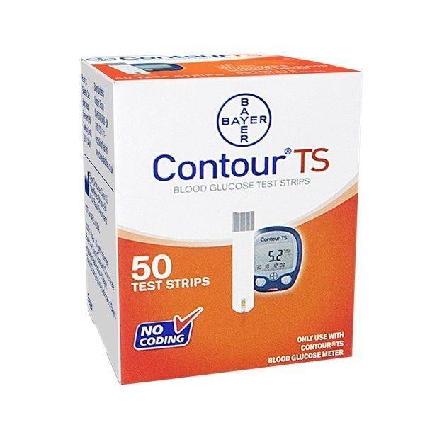 Bayer Contour TS Blood Glucose Test Strip