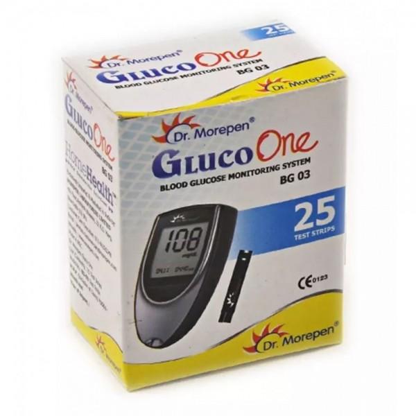 Dr Morepen Gluco One BG 03 Strip