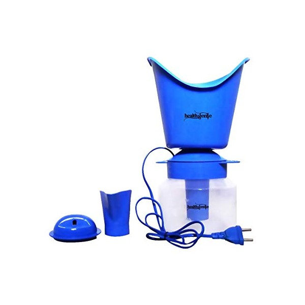 Healthgenie 3 in 1 Steam Sauna Vaporizer Superior Blue