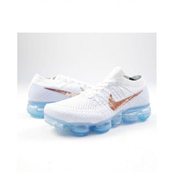 Nike AIR VAPORMAX FLYKNIT White Running Shoes