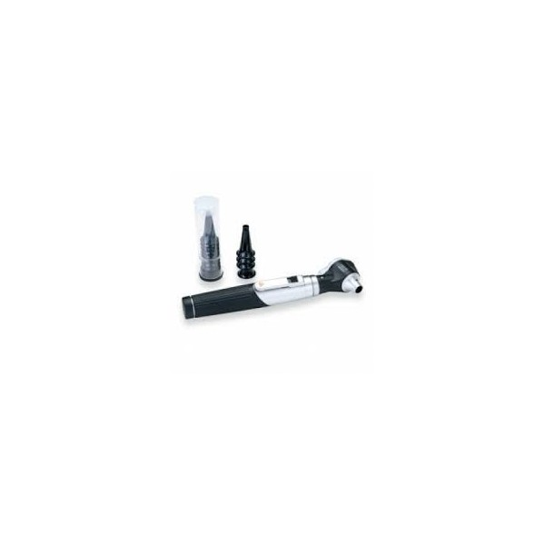 Heine Mini 3000-Direct Otoscope with 10 Disposable Tips and 4 Reusable Tips